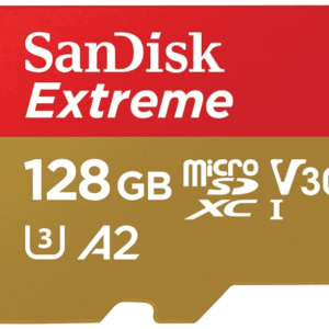SAN DISK SANDISK 128GB MICRO SD EXTREME 160 MB/sec