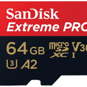 SAN DISK SANDISK 64GB MICRO SD EXTREME PRO 170 MB/sec