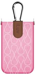 ILUV ICC750 PARASOL SMART COVERUP FOR IPHONE 4/4S PINK PLASTIC