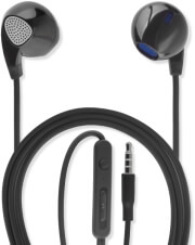 4SMARTS IN-EAR STEREO HEADSET MELODY 3.5MM CABLE 1.2M BLACK