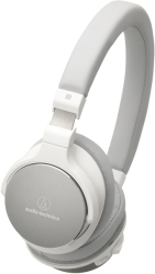 AUDIO TECHNICA ATH-SR5BTWH WIRELESS ON-EAR HIGH-RESOLUTION AUDIO HEADPHONES WHITE