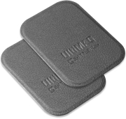 4SMARTS METAL PLATE ULTIMAG LEATHERETTE 2 PCS GREY