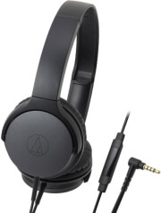 AUDIO TECHNICA ATH-AR1IS OVER-EAR HEADPHONES FOR SMARTPHONES BLACK