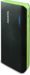 ADATA PT100 POWERBANK 10000MAH COLOR BOX BLACK/GREEN
