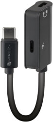 4SMARTS PASSIVE USB TYPE-C TO 2X USB TYPE-C AUDIO SPLITTER SOUNDSPLIT