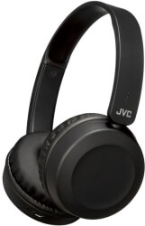 JVC HA-S31BT-B FLAT FOLDABLE WIRELESS BLUETOOTH HEADPHONES WITH BUILT-IN MICROPHONE BLACK
