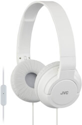 JVC HA-SR185ON-EAR HEADPHONES WITH MICROPHONE WHITE