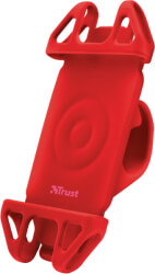 TRUST 22494 BARI FLEXIBLE BIKE HOLDER FOR MOBILE PHONE RED