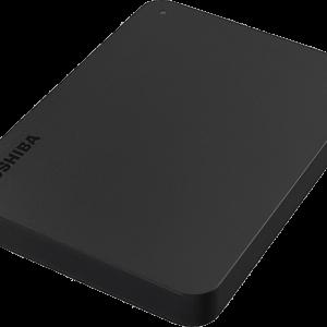 TOSHIBA Canvio Basics (2018) 2TB Portable HDD USB 3.0 Black