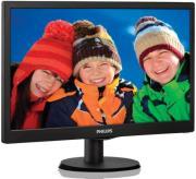 """ΟΘΟΝΗ PHILIPS 193V5LSB2 18.5"""" LCD BLACK"""