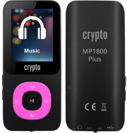 CRYPTO MP1800 PLUS 16GB MP3 PLAYER FUCHSIA