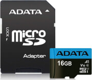 ADATA PREMIER MICRO SDHC 16GB UHS-I V10 CLASS 10 RETAIL WITH ADAPTER