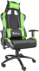 GENESIS NFG-0907 NITRO 550 GAMING CHAIR BLACK/GREEN