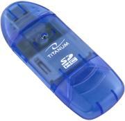 ESPERANZA TA101B TITANUM SDHC CARD READER USB 2.0 BLUE