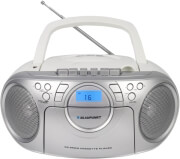 BLAUPUNKT BB16WH CC/CD/MP3/USB BOOMBOX WITH PLL FM RADIO WHITE