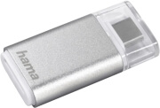 HAMA 181020 CARD READER MICRO SD USB 3.1 TYPE-C SILVER