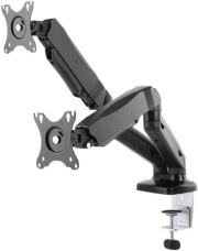"""RAIDSONIC IB-MS304-T MONITOR STAND WITH TABLE SUPPORT FOR TWO MONITORS UP TO 27"""""""