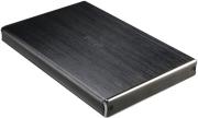 """AKASA AK-EN2SU3-1B NOIR 2SX 2.5"""" SATA HDD/SSD USB 3.1 BRUSHED ALUMINIUM ENCLOSURE"""