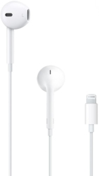 APPLE HEADSET MMTN2 EARPODS WITH LIGHTNING CONNECTOR WHITE RETAIL