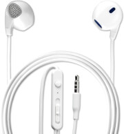 4SMARTS IN-EAR STEREO HEADSET MELODY 3.5MM CABLE 1.2M WHITE