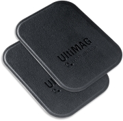 4SMARTS METAL PLATE ULTIMAG LEATHERETTE 2 PCS BLACK