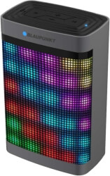 BLAUPUNKT BT07LED PORTABLE BLUETOOTH SPEAKER WITH FM RADIO AND MP3 PLAYER