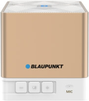 BLAUPUNKT BT02GOLD PORTABLE BLUETOOTH SPEAKER WITH FM RADIO AND MP3 PLAYER