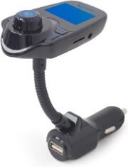 GEMBIRD BTT-01 BLUETOOTH CAR KIT WITH FM-RADIO TRANSMITTER BLACK
