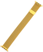 4SMARTS METAL MESH WRIST BAND FOR APPLE WATCH SERIES 5/4 (40MM) & 3/2/1 (38MM) GOLD