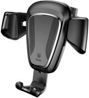 BASEUS CAR HOLDER GRAVITY CAR MOUNT BLACK