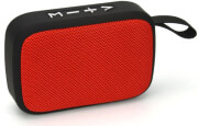 AKAI ABTS-MS89R PORTABLE BLUETOOTH SPEAKER WITH USB AND MICROSD RED