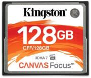 KINGSTON CFF/128GB CANVAS FOCUS 128GB COMPACT FLASH UDMA 7/VPG 65