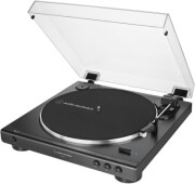 AUDIO TECHNICA AT-LP60X-BK FULLY AUTOMATIC BELT-DRIVE TURNTABLE BLACK