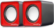 AUDIOCORE AC870R COMPUTER SPEAKERS 2.0 6W USB RED/BLACK
