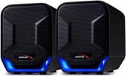 AUDIOCORE AC865B 6W COMPUTER SPEAKERS 2.0 USB BLUE/BLACK