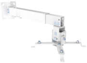 EQUIP 650703 UNIVERSAL WALL/CEILING PROJECTOR BRACKET 20 KG WHITE
