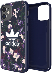 ADIDAS SNAP BACK COVER CASE GRAPHIC FOR IPHONE 12 MINI NAVY