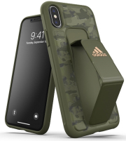 ADIDAS SP GRIP BACK COVER CASE STAND CAMO FOR IPHONE X / XS TECH OLIVE