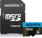 ADATA PREMIER MICRO SDHC 32GB UHS-I V10 CLASS 10 RETAIL WITH ADAPTER