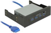"DELOCK 62903 3.5"" / 5.25"" USB 3.0 HUB 4 PORT"