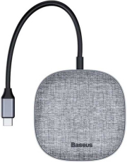 BASEUS FABRIC SERIES 7 IN 1 TYPE-C MULTI FUNCTIONAL HUB 2X USB 3.0 + HDMI+RJ45 LAN+SD/TF+PD CHARGER