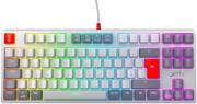 GAMING MECHANICAL KEYBOARD XTRFY K4 TKL RETRO RGB KAILH RED SWITCH, UK LAYOUT