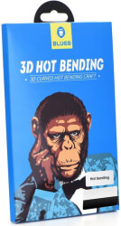 3D MR. MONKEY GLASS FOR SAMSUNG GALAXY NOTE 10 PLUS BLACK (HOT BENDING)